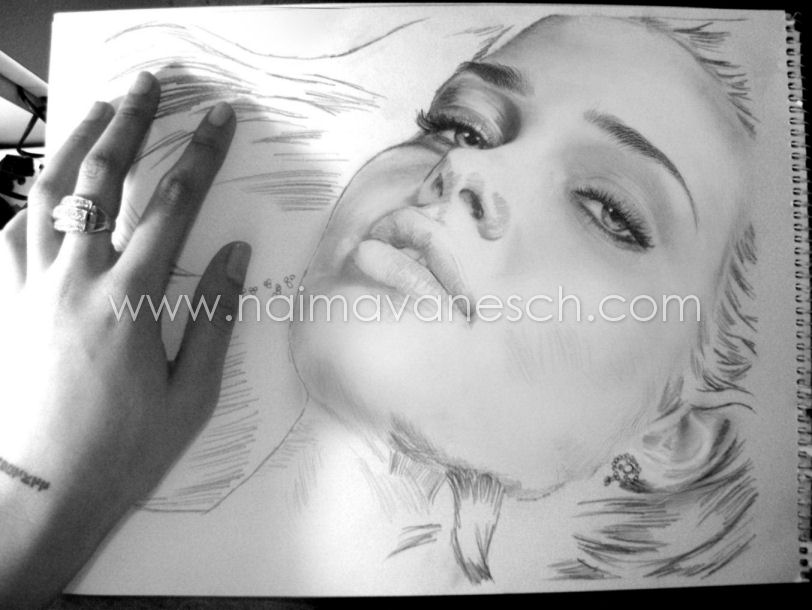Unfinished Pencil Drawing 2010