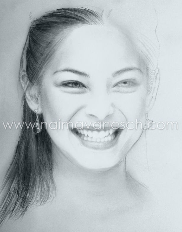 Unfinished Pencil Drawing. 2008