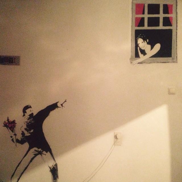 Banksy by naimavanesch – naimavanesch.com